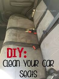 home products to clean car interior diy detail your cars upholstery cars cleaning cars and