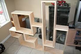 How To Build Bookshelves How To Build A Tetris Bookcase Diy Projects For Everyone