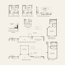Single Family Floor Plans Castleton At Atwater Single Family In Naperville Illinois Pulte