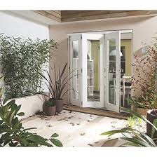 Jeldwen Patio Doors Jeld Wen Wellington Slide U0026 Fold Patio Door Set Pre Finished 2394