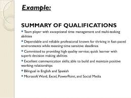 For Resume Skills And Abilities Examples Of Abilities Lukex Co