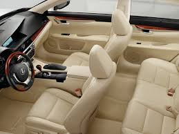 lexus usa models a look inside the spacious 2013 lexus es 350 www
