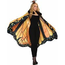 butterfly costume womens monarch butterfly costume cape walmart