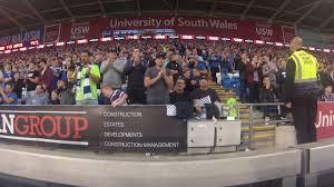 coke zero fan cam fan cam sean morrison goal v sheffield united youtube