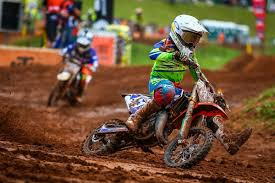 junior motocross racing minear claims podium finish at junior motocross world championship