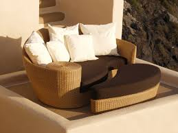 dune deep seating daybed in wicker by barlow tyrie