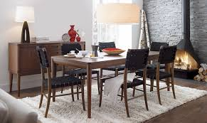 Crate And Barrel Dining Table Crate And Barrel Dining Chairs Scandinavian Dinette Design With