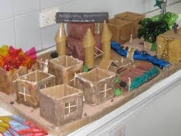 medieval townships 3d diorama hannah yin shoeing in middle ages