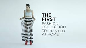 3d printing fashion how i 3d printed clothes at home youtube