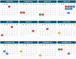 Calendario 2018 Argentina Ministerio Interior Este Es El Calendario Oficial De Feriados 2015 Todolibres Ar