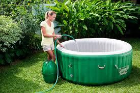 coleman saluspa massage portable spa for 4 6 people walmart com