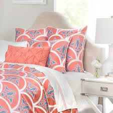 Pink And Yellow Bedding Latest Trend Coral King Size Bedding Modern King Beds Design
