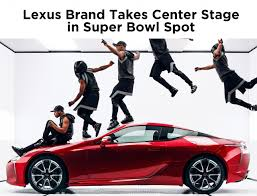 lexus glasgow west street lexus reveals extended version of its super bowl ad starring