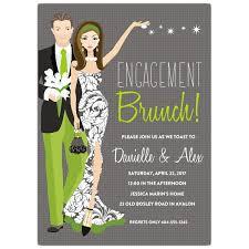 engagement brunch invitations engagement brunch invitations paperstyle