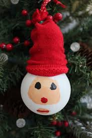 santa light bulb christmas ornament bargainbriana