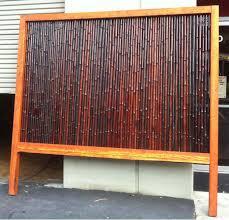 bamboo fence panels melbourne backyard fence ideas