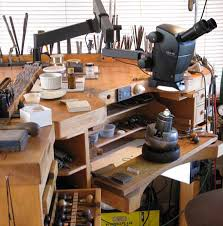 Jewellers Bench For Sale Leica A60 F Engraving And Stone Setting Microscope With Flex Arm