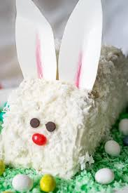 rabbit cake inside easter bunny cake follow the ruels