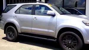 toyota philippines 2015 philippines toyota fortuner improvement youtube