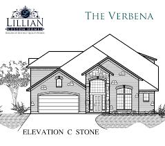 the verbena park place iii new home floor plan waxahachie texas