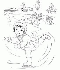 preschool coloring pages woman at the well ice skating coloring pages 432334