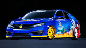 custom honda if sonic ever retires from running he could drive this custom