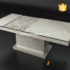 cast stone base glass top dining table stone base dining table