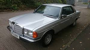 mercedes w123 coupe for sale mercedes w123 230ce pillarless coupe 1983 for sale on car and
