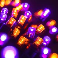 orange led lights with string of 70 forever