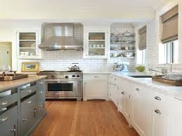two colored kitchen cabinets trend were loving two toned kitchens