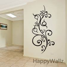 modern wall decals for living room modern flower wine wall sticker flower wall decal modern wall decors