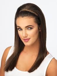 headband across forehead braid headband pop by hairdo hair extensions