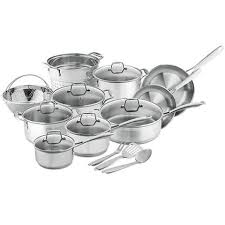 Stainless Steel Kitchen Set by 18 Best Cookware Sets In 2017 Non Stick And Stainless Steel Pot