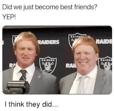 Did We Just Become Best Friends Meme - did we just become best friends yep raid raders rad ra ra i think