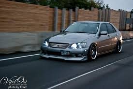 lexus is300 wagon slammed new member here headlight question lexus is forum