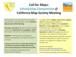 california map society geography archive call for maps scholarship competition