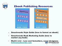 format for ebook publishing ebook publishing checklist california state writers sacramento