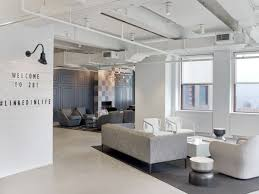 Chic Home Design Nyc Linkedin U0027s New York Office Stays Chic Without Using Cliches