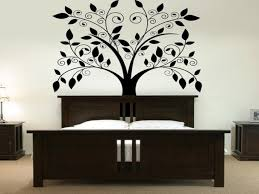 interior awesome wall decor ideas for home astounding wall decor interior astounding wall decor wooden sidebed table with white table lamp dark wooden headboard white