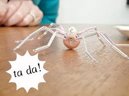 how to make a beaded christmas spider dans le lakehouse