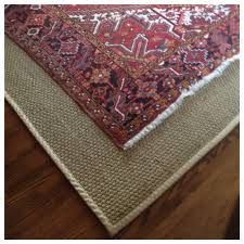 Colored Jute Rugs Layer An Antique Persian Rug On Top Of A Seagrass Rug To Quiet The