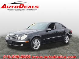 san antonio mercedes 2004 mercedes e class e500 4dr sedan in san antonio tx