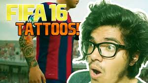 fifa 16 messi tattoo xbox 360 trailer fifa 17 tatuajes youtube