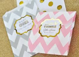 personalized goodie bags metallic foil chevron dots personalized goodie bags set of 12 ba