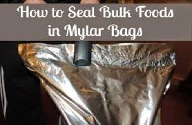 where to buy mylar bags how to seal food in mylar bags