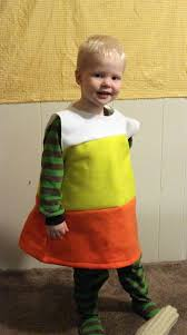 candy corn costume make a candy corn costume for 2 69 dollar store crafts