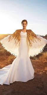 plain white wedding dresses 31 feather wedding dresses that wow happywedd