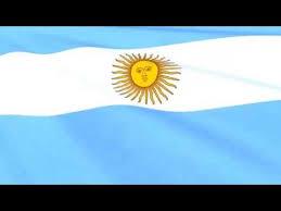 argentinian flag waving bandera de argentina youtube