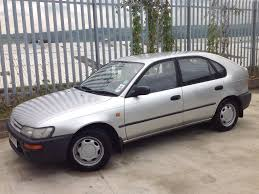 toyota corolla 2 0 xld 5 doors hatch back manual diesel silver