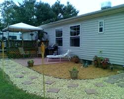 mobile home yard design single wide mobile home landscaping for mobile home yard design